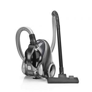 Black + Decker VM1450 1380-Watt Vacuum Cleaner (Black)