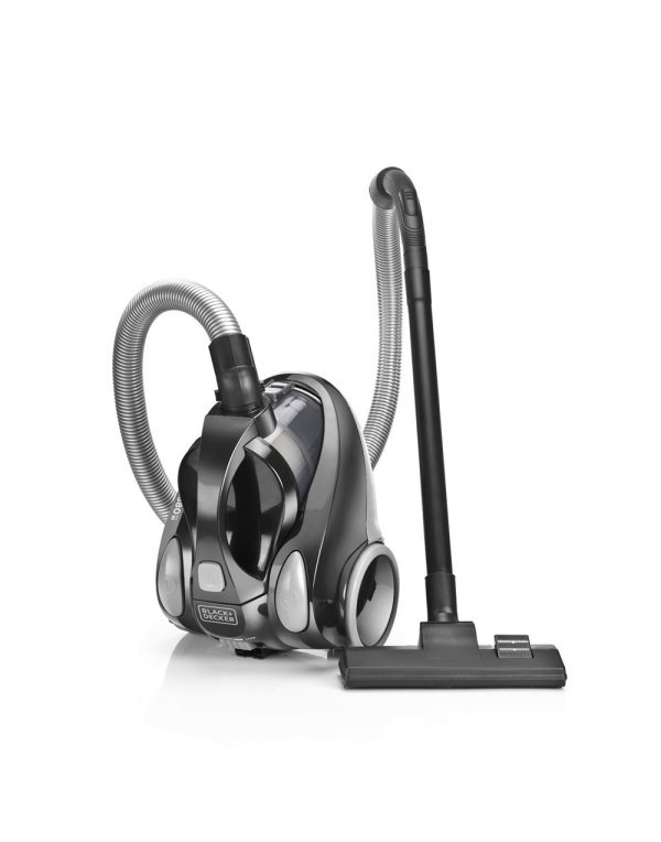 Black + Decker VM1450 1380-Watt Vacuum Cleaner (Black)