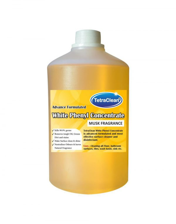 TetraClean Musk Disinfectant Floor Cleaner Musk 1 L