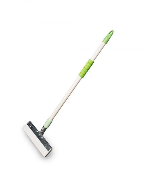 Vimal Ecowipe Floor Cleaning Wiper + Steelo Curvy (Long Handle) Toilet Brush Combo Set