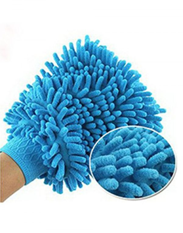 Home Cube Double Sided Microfiber Cleaning Gloves