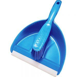 Vimal Nirali Kitchen Wiper and Dust Pan with Brush Combo Set