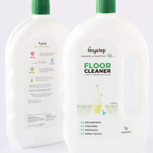 Tinystep Natural Floor Cleaner, 975ml (Lime)