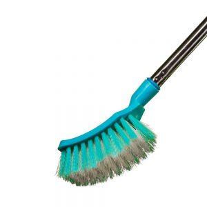 Vimal Ecowipe Floor Cleaning Wiper + Steelo Curvy (Long Handle) Toilet Brush Combo Set