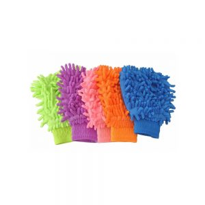 Microfiber Hand Duster Washing Glove