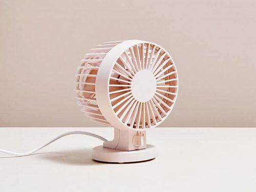 Pink Dual Fan