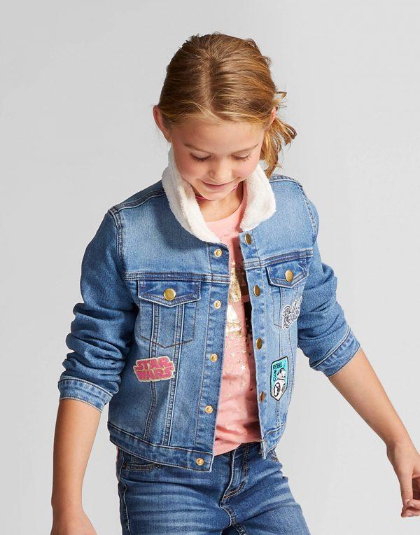 Girls' Star Wars Forces Of Destiny Jacket - Denim Blue