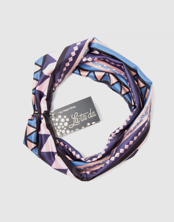La-ta-da Boho Chic Head Wrap