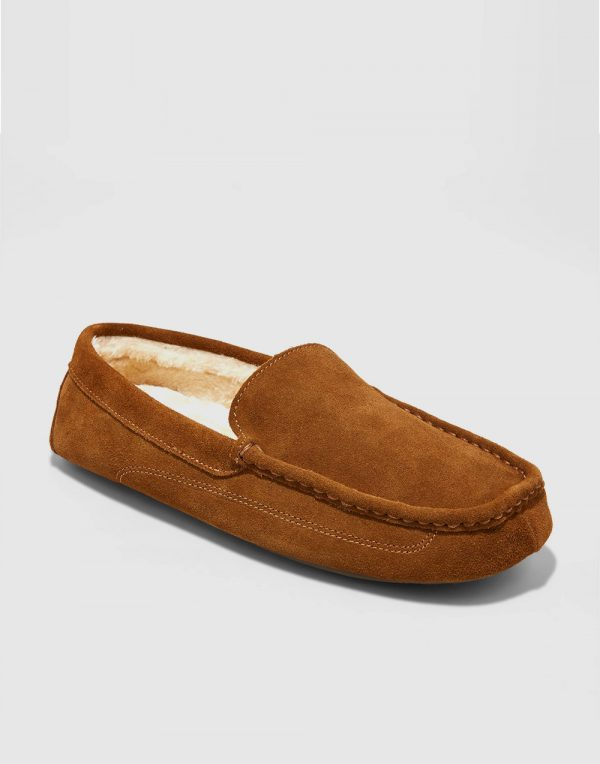 Men's Carlo Suede Driving Slippers
