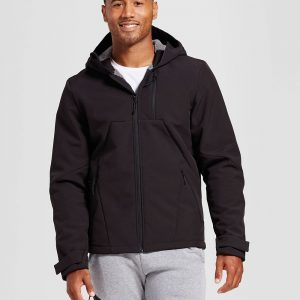 Men's Softshell Hooded Jacket