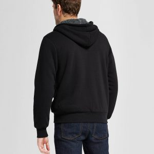 Men's Standard Fit Sherpa Fleece Jacket