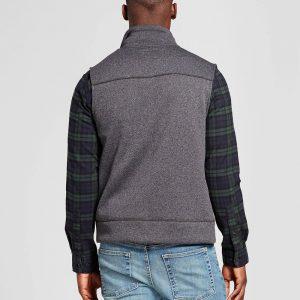 Men's Standard Fit Sweater Fleece Vest