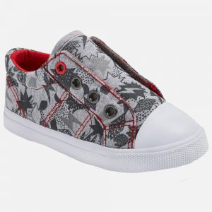 Toddler Boys' Helmer Laceless Cap Toe Sneakers