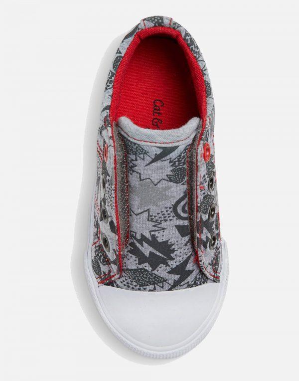 Toddler Boys' Helmer Laceless Cap Toe Sneakers