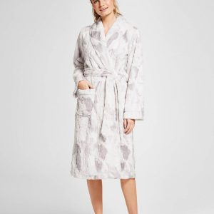 Women's Faux-Fur Robe