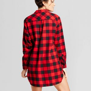 Women's Flannel Sleepshirt