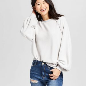 Women's Fluffy Jersey Pullover