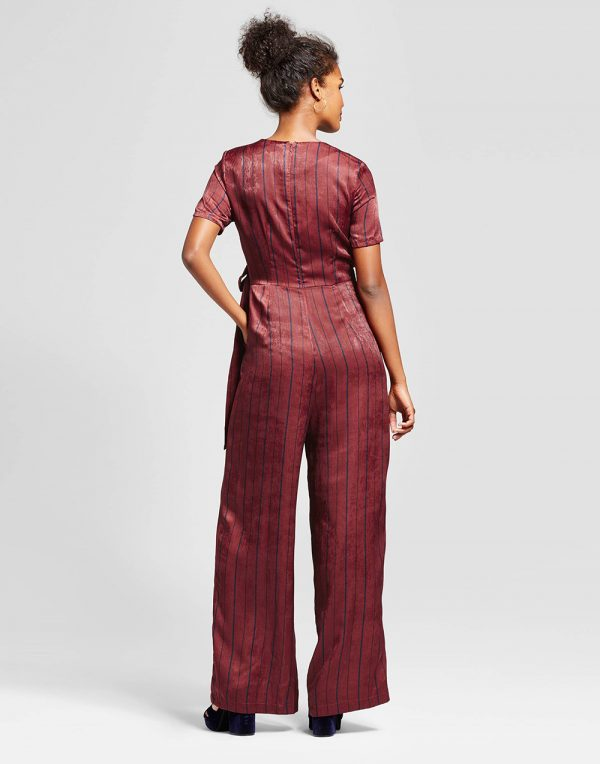Women's Satin Jumpsuit