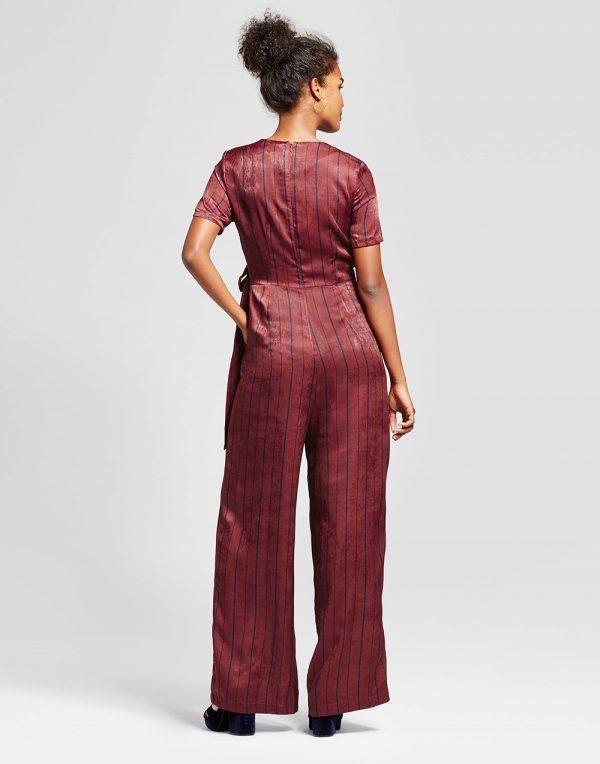 Women's Satin Jumpsuit