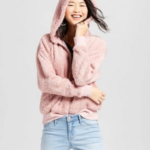 Women's Sherpa Zip-Up Hoodie
