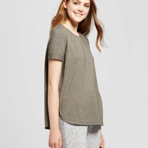 Women's Short Sleeve French Terry Sweatshirt