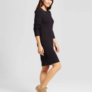 Women's Textured Sweater Dress