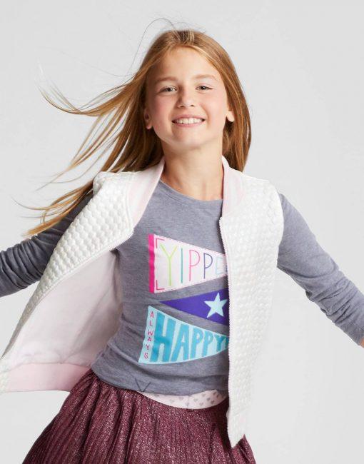 Girls' Bomber Vest