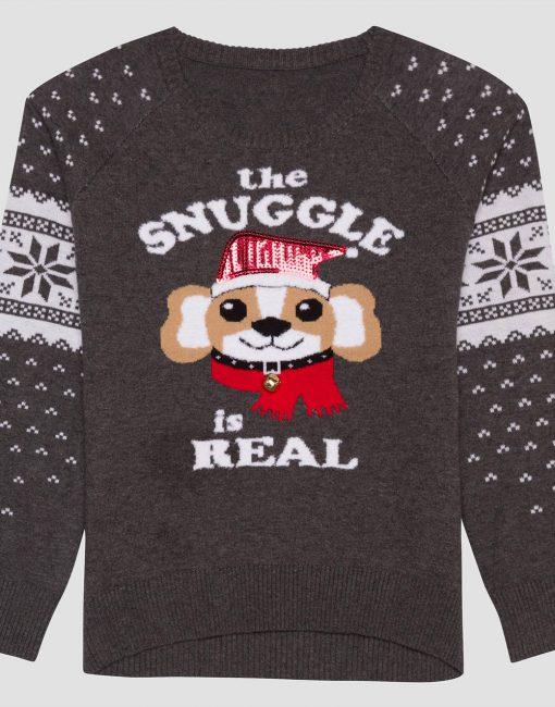 Hybrid Apparel Girls' Sweater - Gray