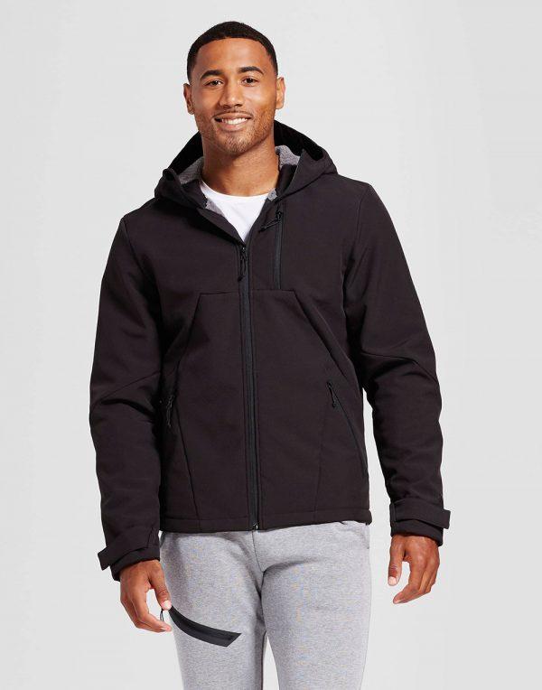 Men's Softshell Hooded Jacket
