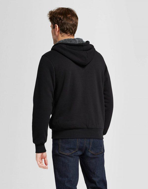 Men's Standard Fit Sherpa Fleece Jacket