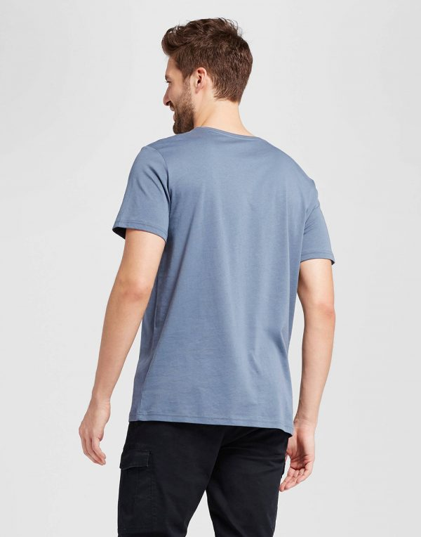 Men's Standard Fit Short Sleeve V-Neck T-Shirt
