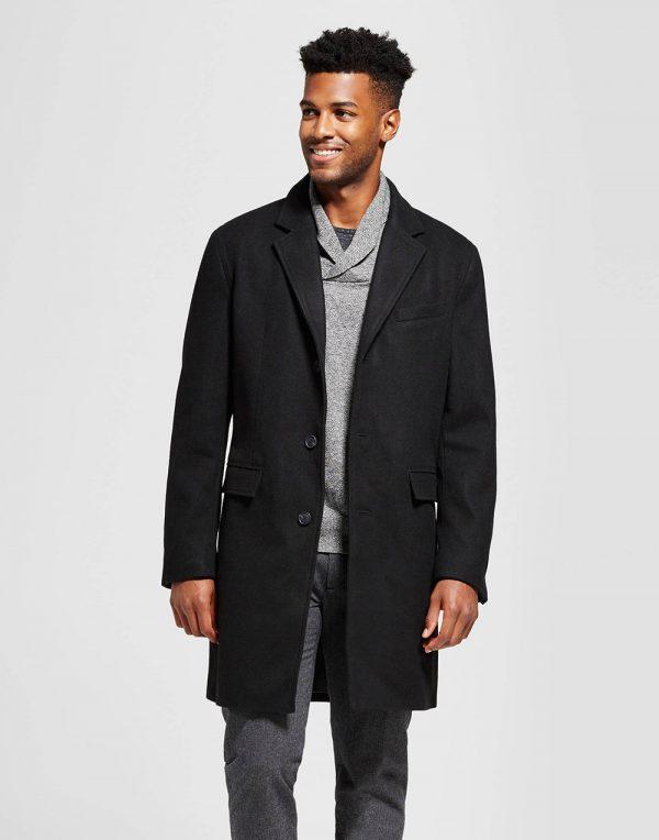 Men's Wool Top Coat