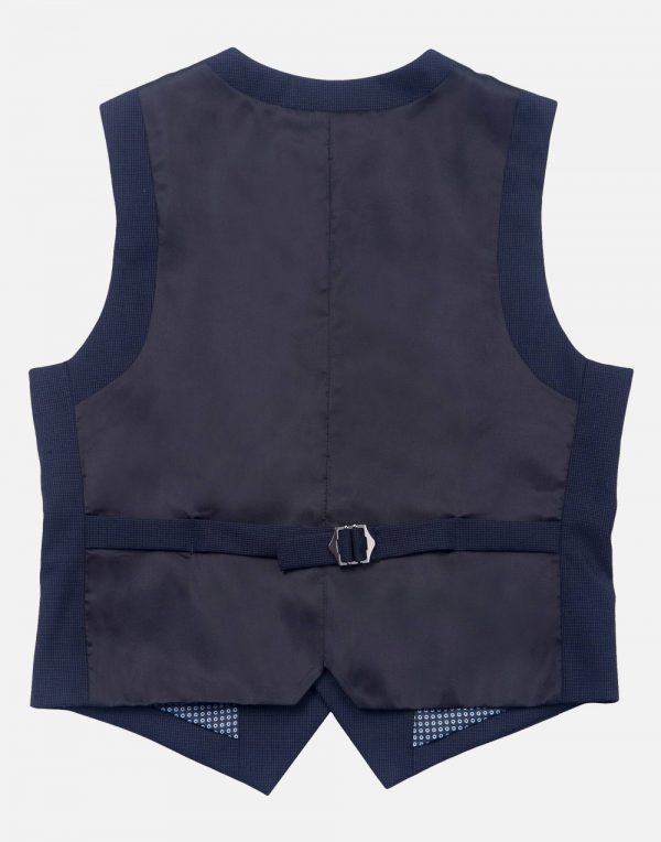 WD.NY Boys' Suit Vest - Classic Navy