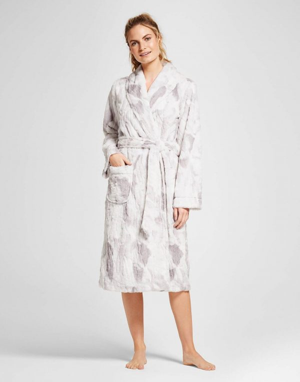 Women's Faux-Fur Robe