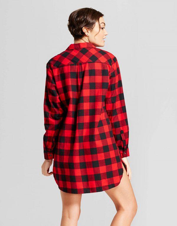 Women's Flannel Sleepshirt