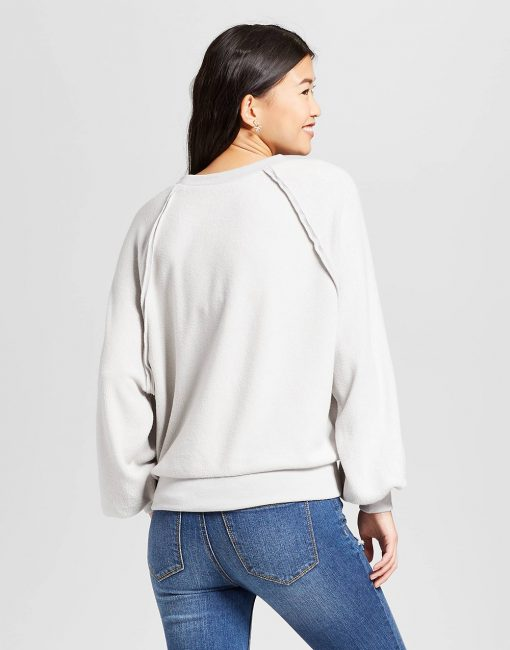 Women's Fluffy Jersey Pullover