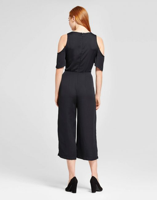 Women's Front Tie Wrap Jumpsuit