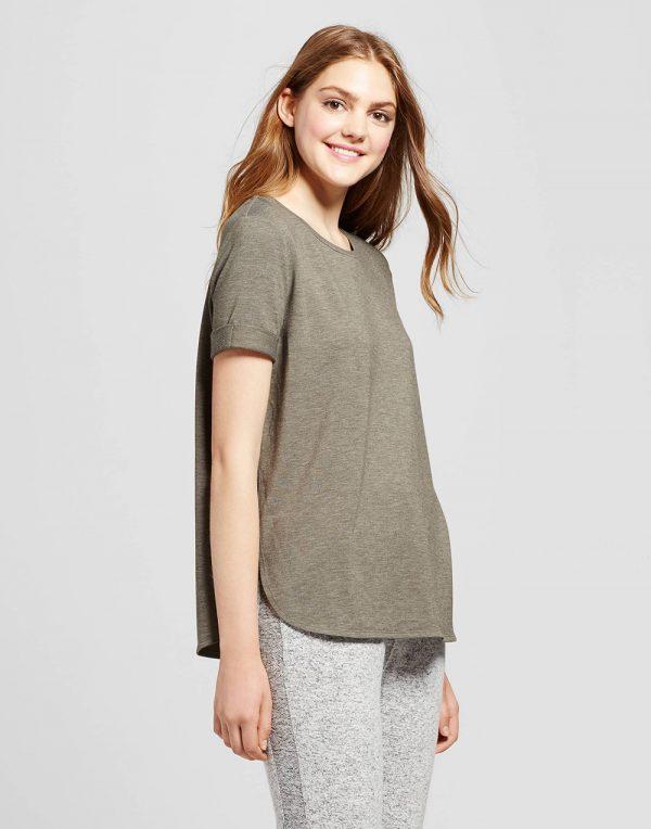 Women's Short Sleeve French Terry Sweatshirt