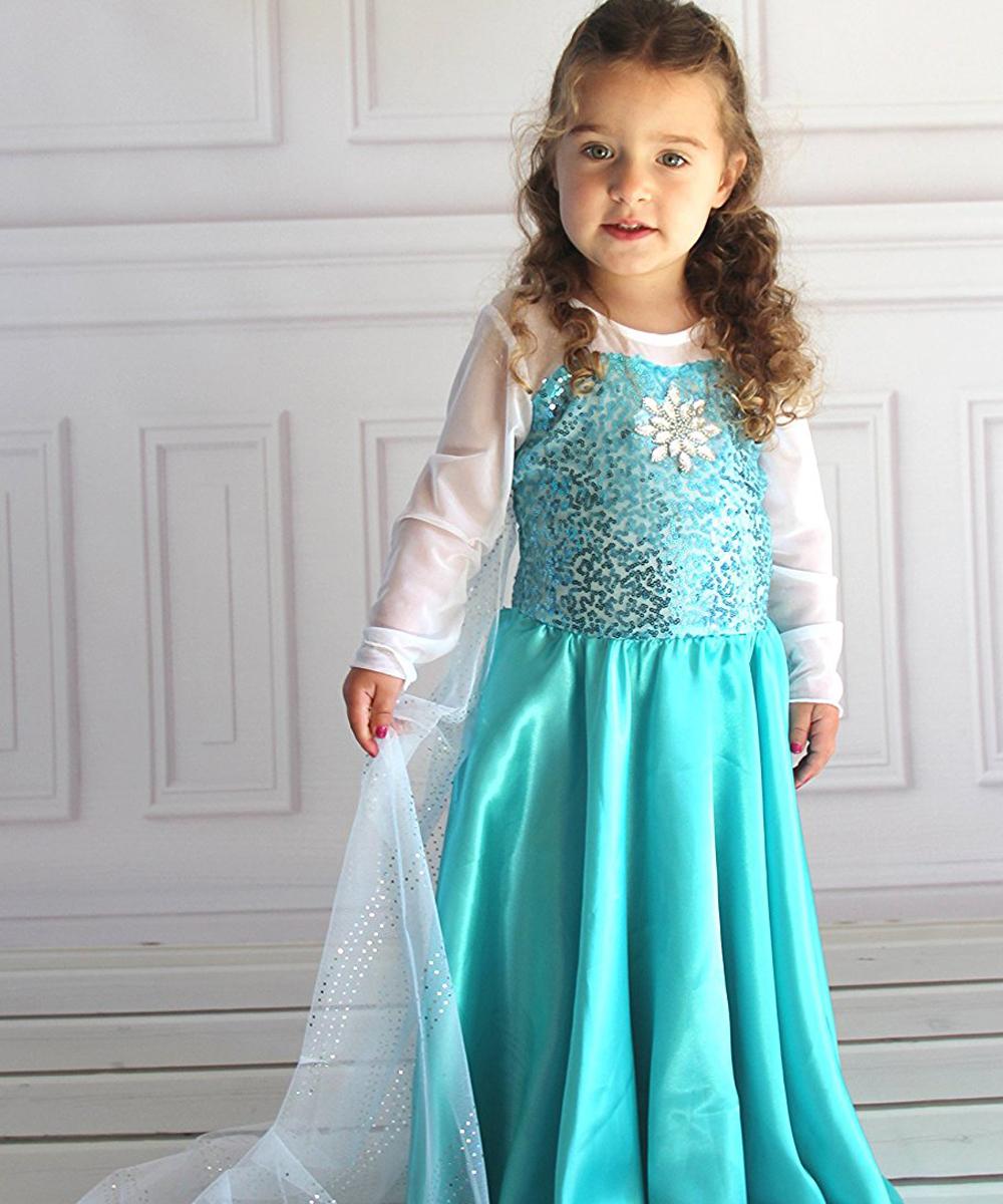 Butterfly Craze Girls Snow Queen Costume Snow Princess Dress – Toys