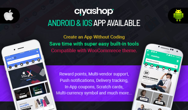 CiyaShop - Responsive Multi-Purpose WooCommerce WordPress Theme - 1