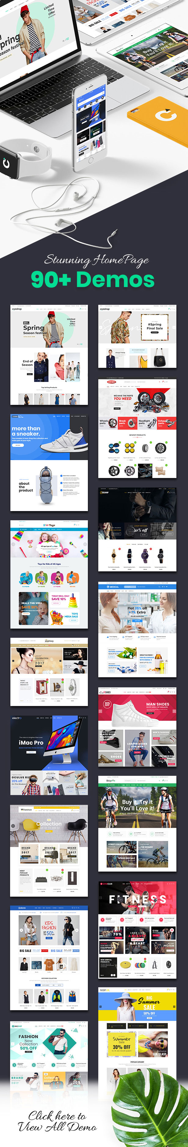 CiyaShop - Responsive Multi-Purpose WooCommerce WordPress Theme - 2