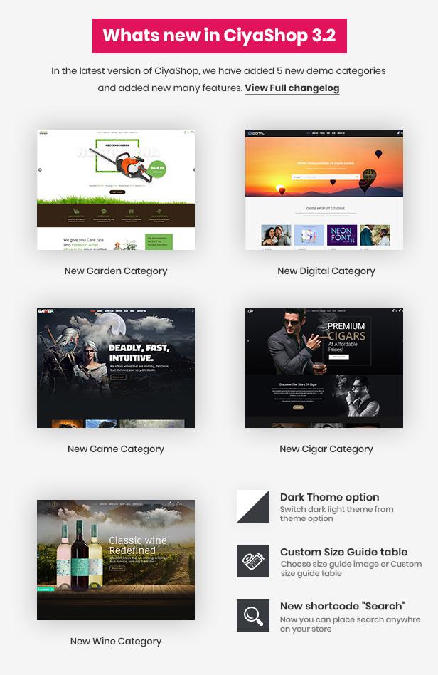 CiyaShop - Responsive Multi-Purpose WooCommerce WordPress Theme - 1