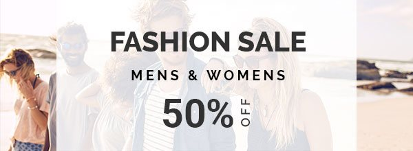 Fashion Sale 50% OFF