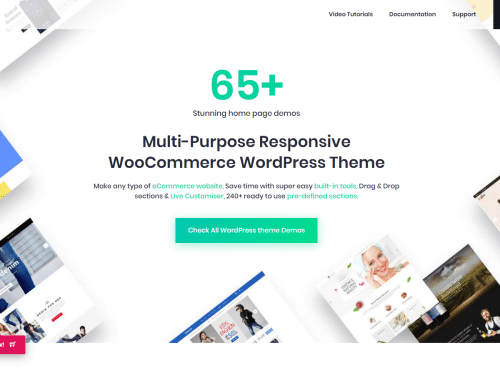 Best Responsive Ecommerce & Woocommerce WordPress Themes
