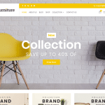 Buy Best WordPress Themes For a Furniture Website